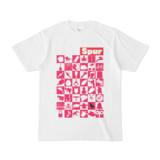 シンプルデザインTシャツ Spur_48_ON(MAGENTA)