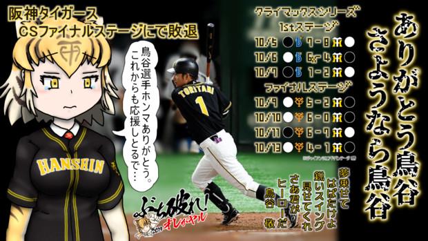 阪神タイガースCS敗退で2019シーズン終了