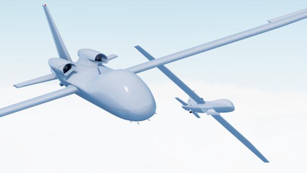 【配布】UAV Talarion(のような何か)【MMDモデル】
