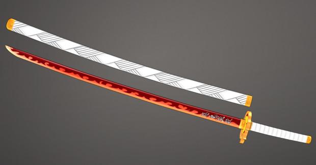 煉獄さんの日輪刀
