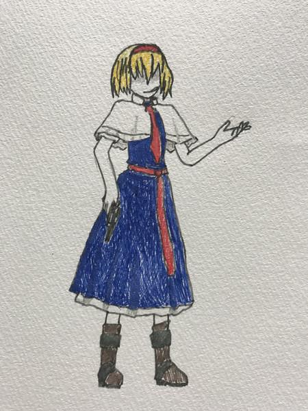模写☆ TRS姉貴(JGN)