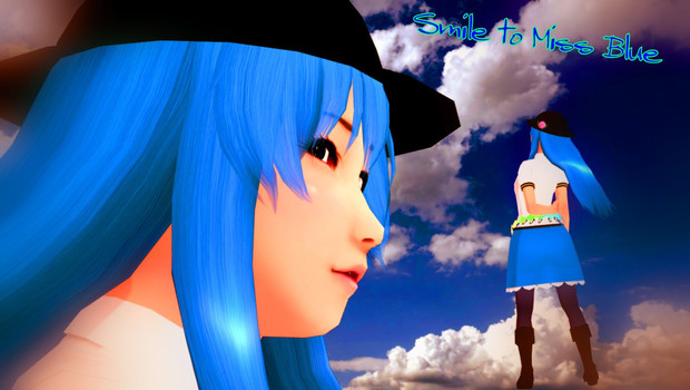 Miss Blue に微笑みを【そばかす式】