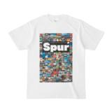 シンプルデザインTシャツ Spur_176/2(BLACK)