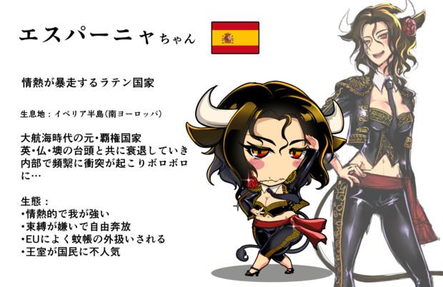 エスパーニャちゃん <スペイン王国>