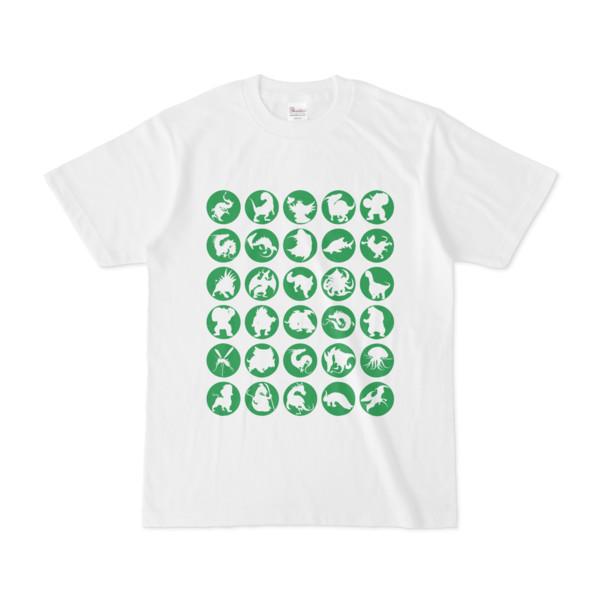 シンプルデザインTシャツ C.MONSTER(GREEN)