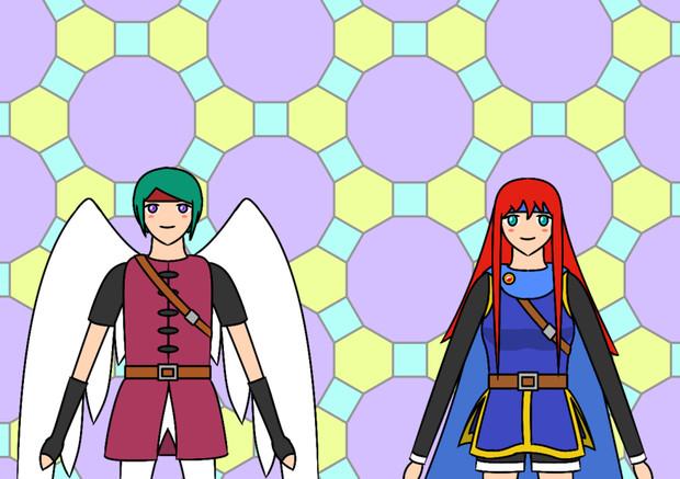 TAG (TTHT, Angel-hero, Girl)