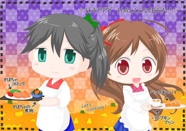 ハロウィンのお料理対決!