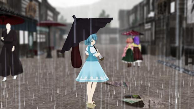 外はもっと雨