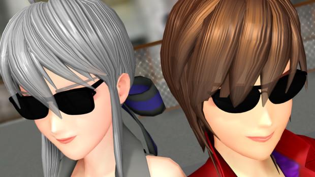 【更新】あぶない刑事っぽいサングラスセットVer.1.1