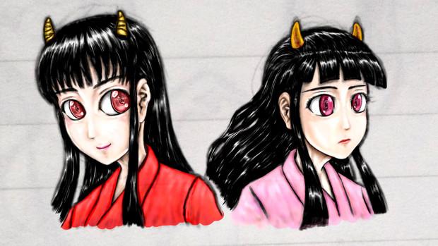 代表日本鬼子と縁起日本鬼子