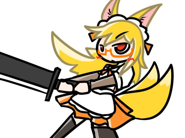 お狐バトルメイド