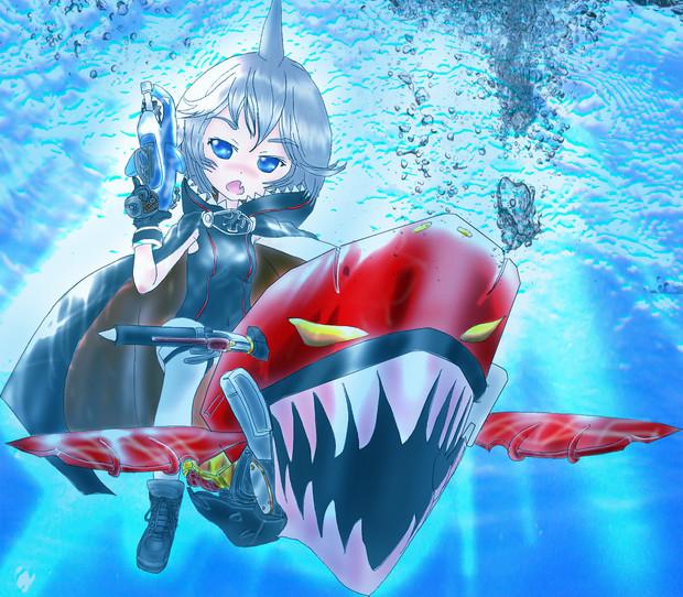 鉄血 鮫 と エニグマ