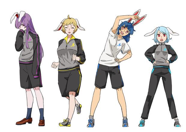 玉兎×ジャージ
