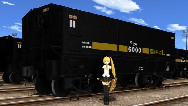 【モデル配布】セキ6000形貨車