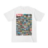 シンプルデザインTシャツ Spur=170(RED)