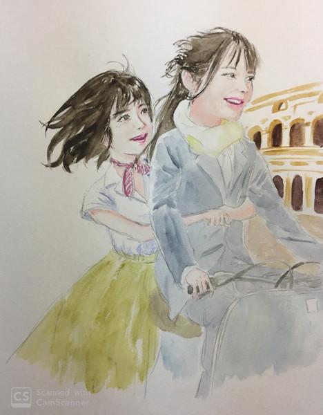 ローマの休日ごっこ