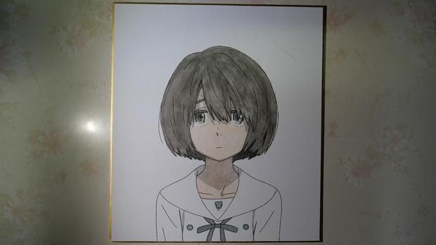 【長井龍雪】心が叫びたがってるんだ。の成瀬順描いてみた。