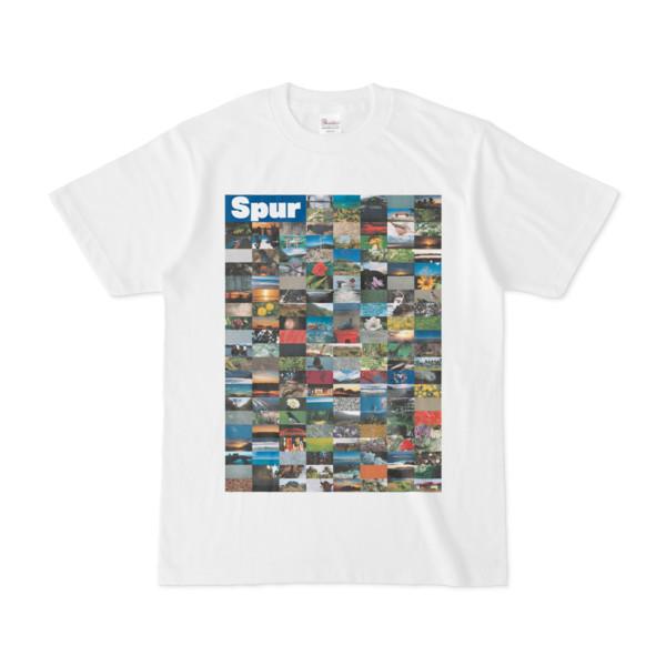 シンプルデザインTシャツ Spur=170(BLUE)