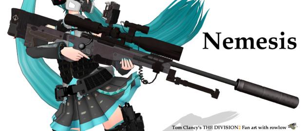 Nemesis【MMDモデル配布】