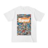 シンプルデザインTシャツ Spur_176/2(ORANGE)