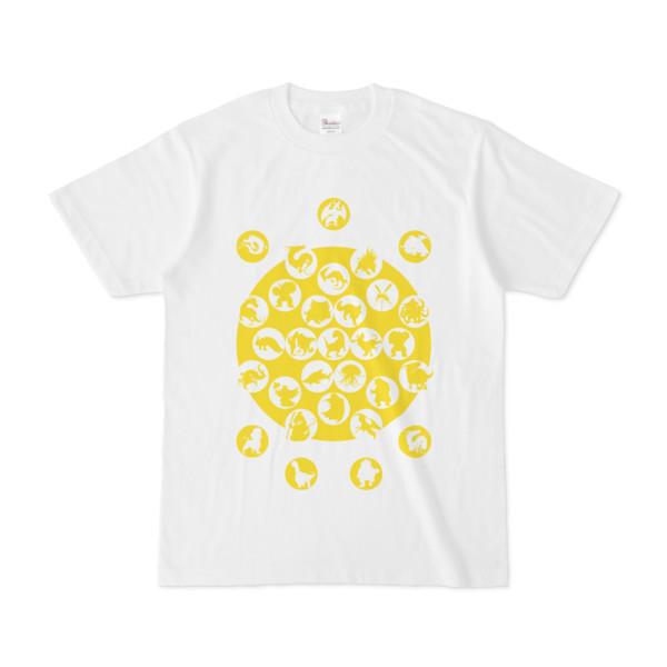 シンプルデザインTシャツ M_Ladybird(YELLOW)
