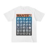 シンプルデザインTシャツ WANTED MONSTER(DARK)