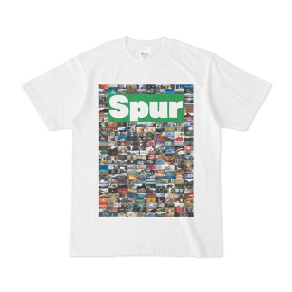 シンプルデザインTシャツ NC1.Spur_232(GREEN)