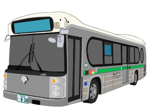 東京都交通局 S-1系統専用車