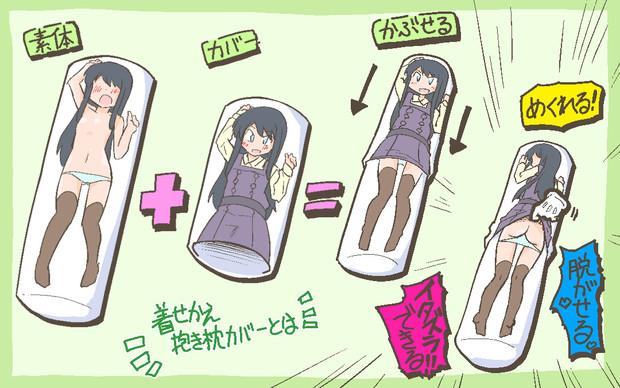 朝潮さん着せ替え抱き枕カバー