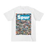 シンプルデザインTシャツ NC1.Spur_232(CYAN)