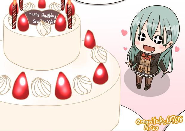 誕生日ケーキが食べたい鈴谷Jr.
