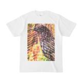 シンプルデザインTシャツ Epic 植物烏