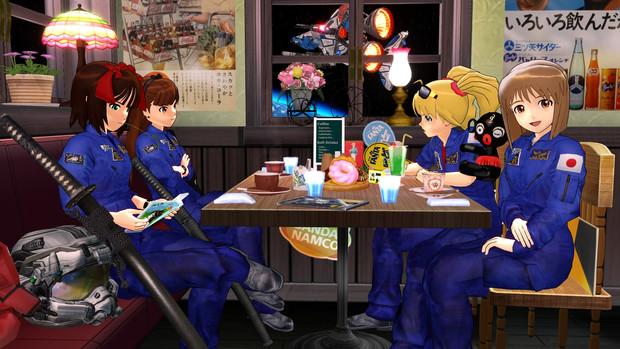 スターラスターガール 喫茶店回完成記念