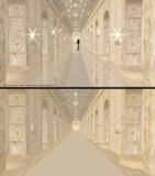 金色の回廊【MMDステージ配布】