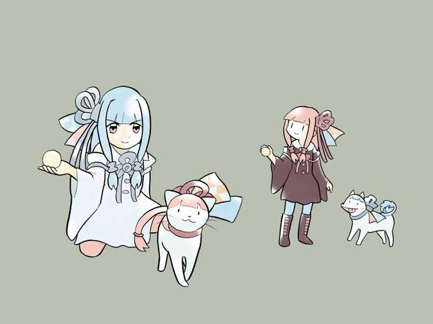 琴葉姉妹 猫・犬