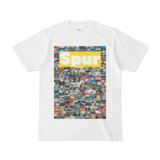 シンプルデザインTシャツ NC1.Spur_232(YELLOW)