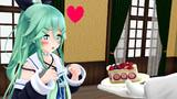 ケーキ大好き山風ちゃん