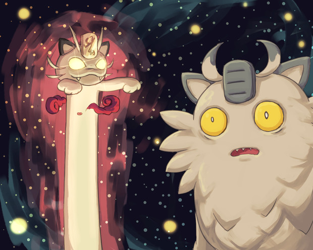 space Meows
