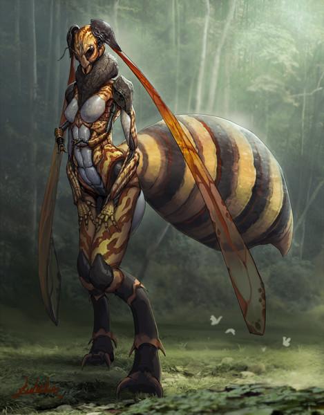 人外スズメバチ