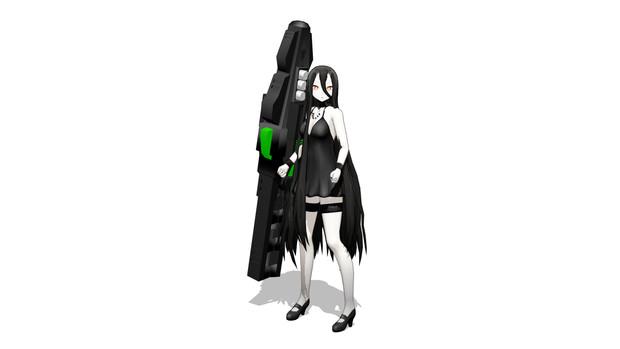 荷電粒子砲装備戦艦棲姫