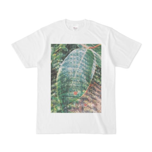 シンプルデザインTシャツ Epic 葉.植物.信号機