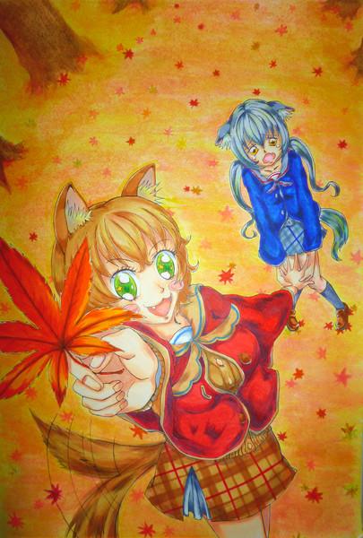一番おっきな秋見ぃーっけ!♪