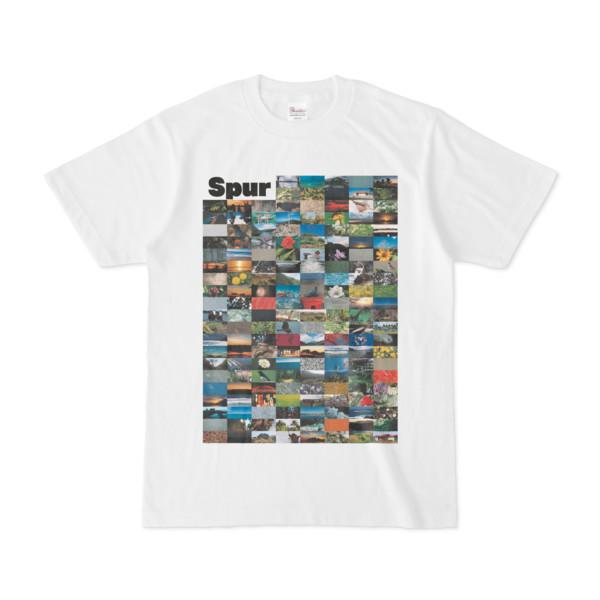 シンプルデザインTシャツ Spur=170(WHITE)