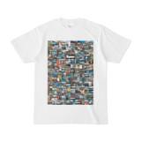 シンプルデザインTシャツ 276-Spur(BLACK)