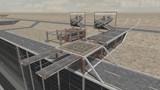 【MMD】砂漠のテストステージ01 Ver0.9 配布