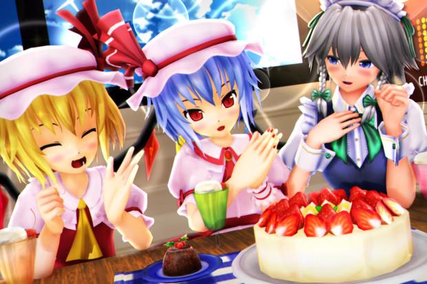【レミフラ!】ケーキを食べましょう~っ♪