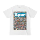 シンプルデザインTシャツ NC3.Spur_232(CYAN)