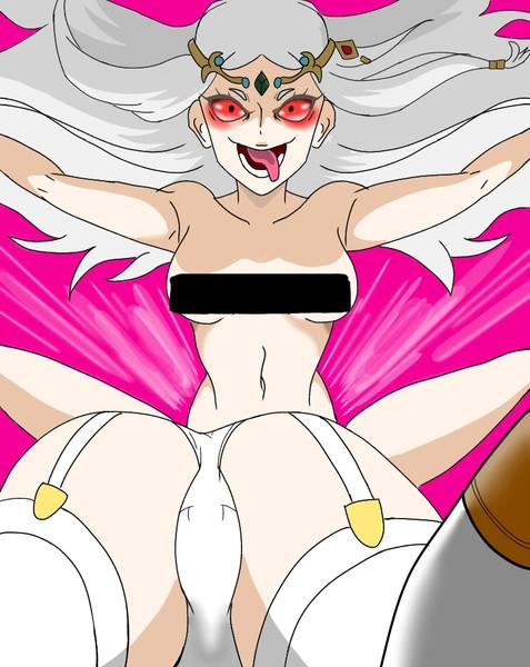 淫乱女神と尻姫