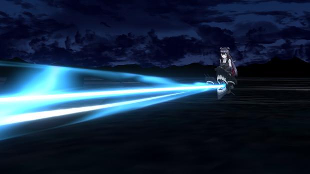 深海粒子砲!