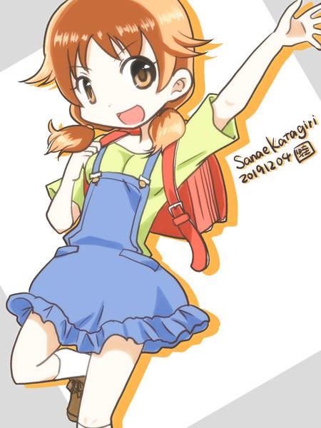 小学生な片桐早苗さん。